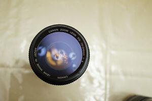 Canon FD lens