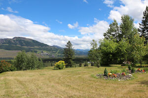 Beautiful Home on 5 Acres Outside Sparwood!