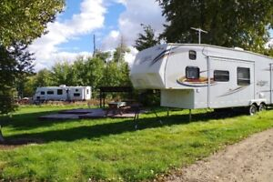 Spacious RV Lot#63 at River Stone Campground
