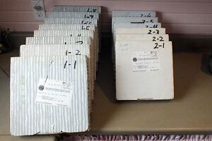 Delphi Beatle plates. Series 1 & 2