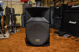 Tapco powered speaker