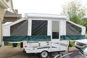 Tente roulotte/Pop-up tent trailer Palomino Pony 280