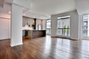Spacious brand new 3 bedrooms condo for rent in Ville St-Laurent
