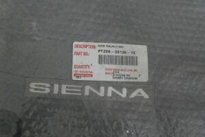 Toyota Sienna-car mats, new and still in package