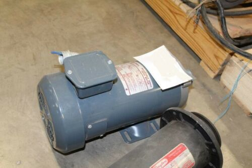 GENERAL ELECTRIC 3/4 HP 1725 RPM ADJUSTABLE SPEED DRIVE MOTOR 5BPB56 PAA201a