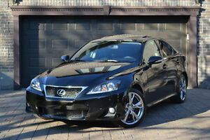 2011 Lexus IS350 Black - Fully Loaded