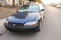 2002 Honda Accord ** Transmission Out **