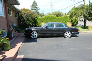 1998 Jaguar XJR Black Sedan