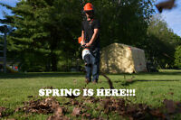 Spring Clean Up - Rooted Landscaping and Firewood