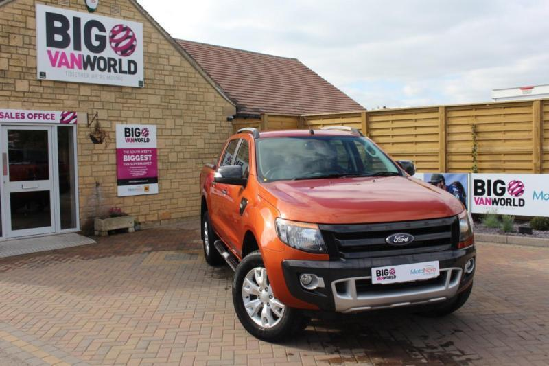 2015 FORD RANGER WILDTRAK 4X4 DOUBLE CAB TDCI 200 PICK UP DIESEL