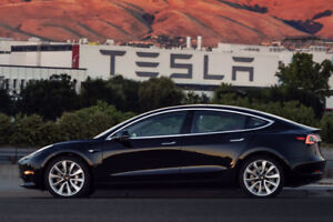 Tesla Model 3 - Ready to be customized & delivered