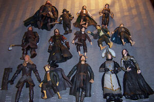 Lord of the Rings Figures 14 Figures LOTR