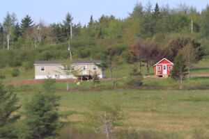 19.7 acres Views of Bras D'or Lake 2 bedroom  house