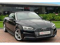 2018 Audi A5 Cabriolet S line 2.0 TFSI 190 PS 6-speed Convertible Petrol Manual