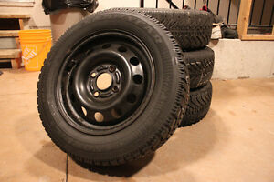 p185/65/R14 Winter Tires and Rims!!!