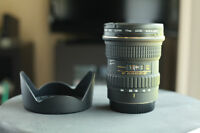 TOKINA 12-24MM f/4 (IF) DX  AT-X  Pro  Autofocus LENS FOR CANON