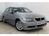 2007 07 BMW 3 SERIES 2.0 318I SE 4DR AUTOMATIC 128 BHP
