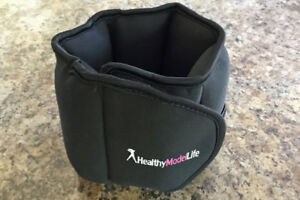 Two 5-pound ankle weights