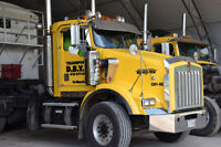 Kenworth T800 2002 et saleuse sableuse