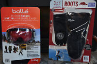 Bolle Goggles and Roots Glove Pack