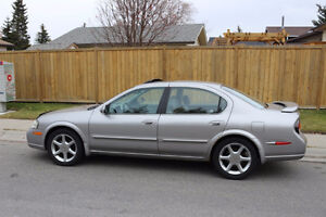 2001 Nissan Maxima SE 20th Anniversary Edition Sedan