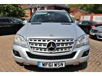 2011 61 MERCEDES-BENZ M CLASS 3.0 ML350 CDI BLUEEFFICIENCY SPORT 5D AUTO 231 BHP