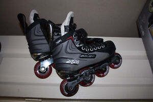 Bauer RX1 inline hockey skates