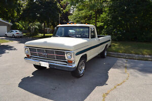 1969 Ford F100 RESTORED.Almost 20k invested.Very low miles