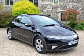 Honda Civic 1.8i-VTEC i-Shift ES, Auto, 105K MILES, FULL S/HISTORY, NEW MOT