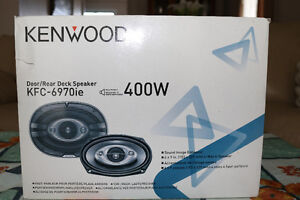 Brand New Kenwood 6x9 4-way Speakers