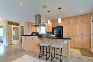 Fully Renovated Home with Private Ravine Backyard near Downtown