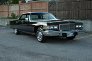 1975 Cadillac DeVille Sedan for Sale by Owner