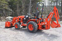 Kubota Tractor for Rent