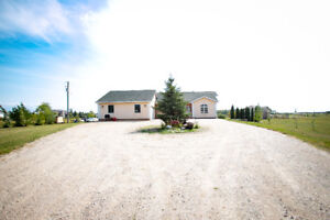 5 Bedroom Home With Fireplace On Lovely 2 Acres
