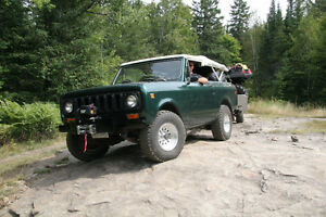 1973 International Harvester Scout SUV, Crossover
