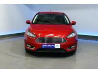 2015 Ford Focus 1.0T EcoBoost Titanium (s/s) 5dr Hatchback Petrol Manual