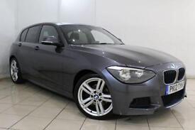2012 12 BMW 1 SERIES 2.0 120D M SPORT 5DR 181 BHP DIESEL