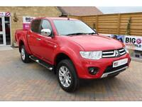2015 MITSUBISHI L200 DI-D 4X4 WARRIOR 2 LB DOUBLE CAB AUTO PICK UP DIESEL