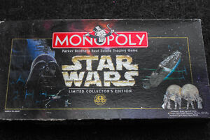Star Wars Monopoly Collectors Limited Edition  - Complete
