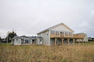 Large Waterfront Beach with Cottage (Souris,PEI)