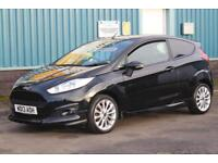 2013 FORD FIESTA SPORT 1.6 TDCI 95 BHP DIESEL MANUAL VAN, 1 OWNER, AIR CON CAR D