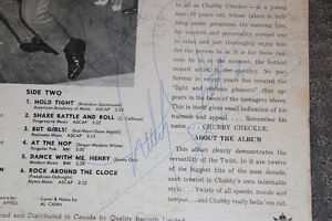 Great Autographed Chubby Checker Albums London Ontario image 6