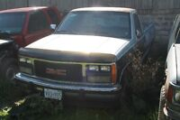 Parting out 88-98 gmc/chevy trucks