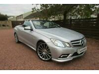 2010 Mercedes-Benz E Class 3.0 E350 CDI BlueEFFICIENCY Sport Cabriolet 2dr