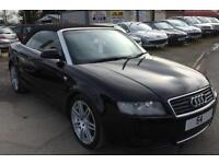 2005 Audi A4 Cabriolet 1.8T AUTOMATIC Sport 60k FULL BLACK LEATHER