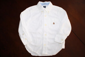 Baby GAP Classic White Button Down Shirt- 2T