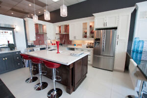 CLEARANCE SALE: Full Kitchen Cabinetry and Counter top Set