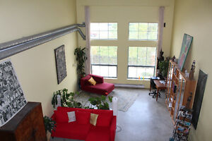 Large Furnished Loft 1200 sq ft Close to Dtwn for Dec&Jan $1950.