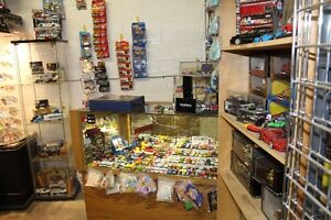 THOUSANDS OF ITEMS FOR SALE AT DAN'S HOBBY AND TRAIN STATION
