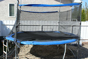 "12"" Trampoline and Safety Enclosure Combo"